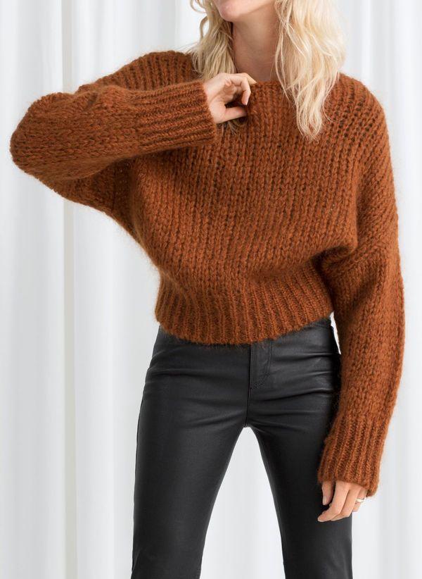 Вязаный свитер осень/зима 2019-2020 1380520