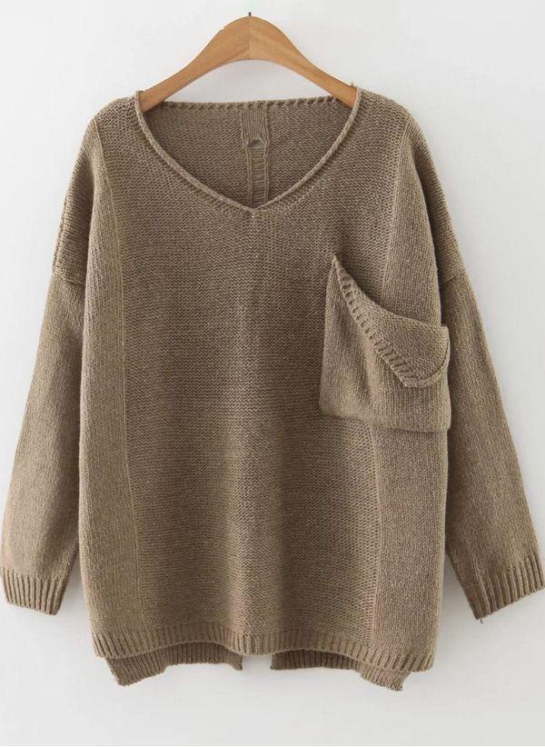 Вязаный свитер осень/зима 2019-2020 1380540