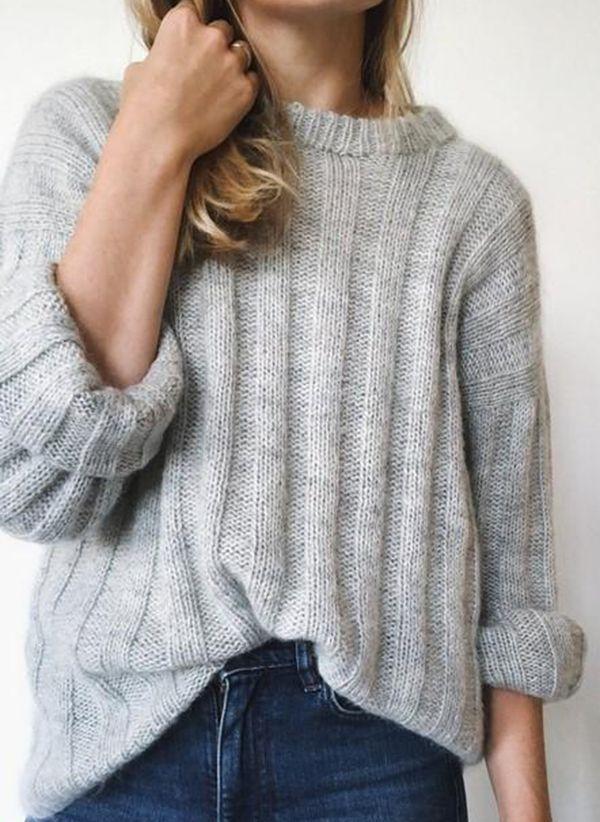 Вязаный свитер осень/зима 2019-2020 1380550