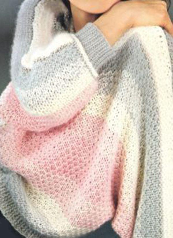 Вязаный свитер осень/зима 2019-2020 1394150