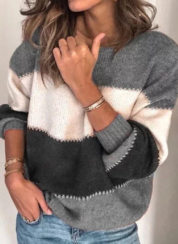 Вязаный свитер осень/зима 2019-2020 1401319