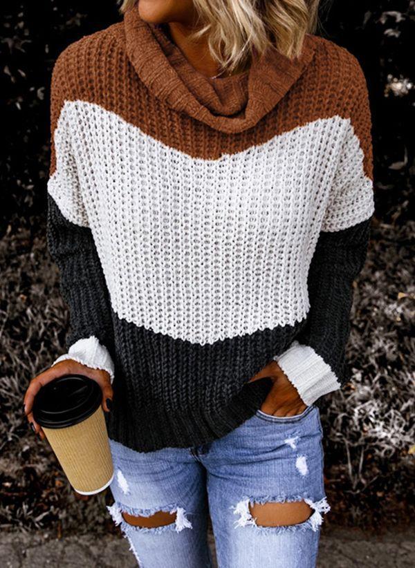 Вязаный свитер осень/зима 2019-2020 1407669