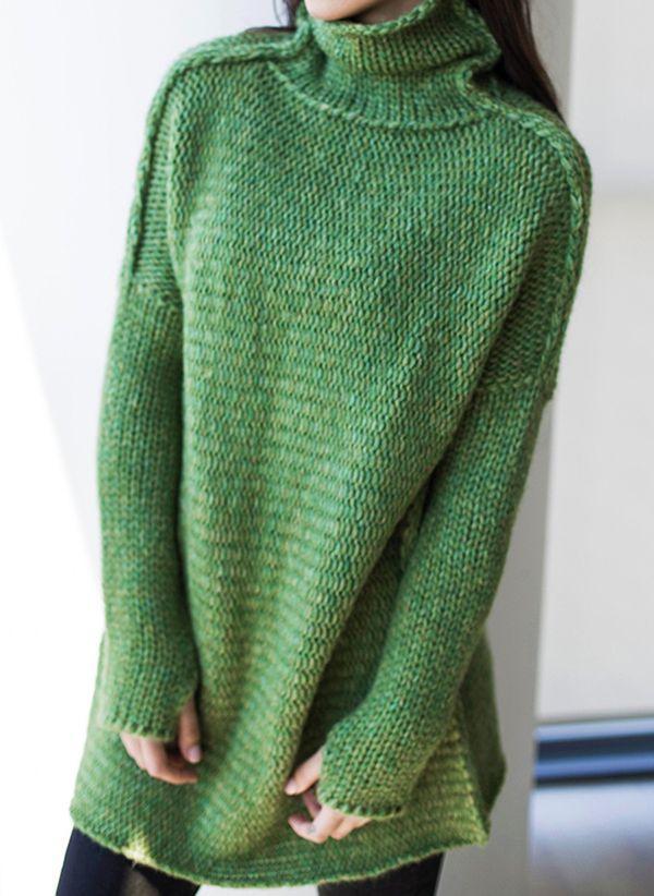 Вязаный свитер осень/зима 2019-2020 1410708