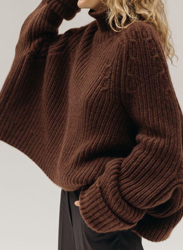 Вязаный свитер осень/зима 2019-2020 1410855