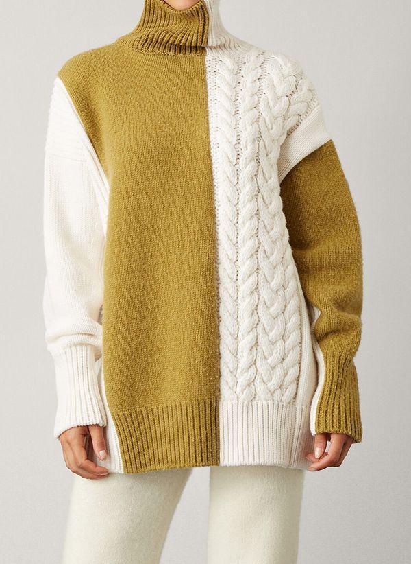 Вязаный свитер осень/зима 2019-2020 1423878