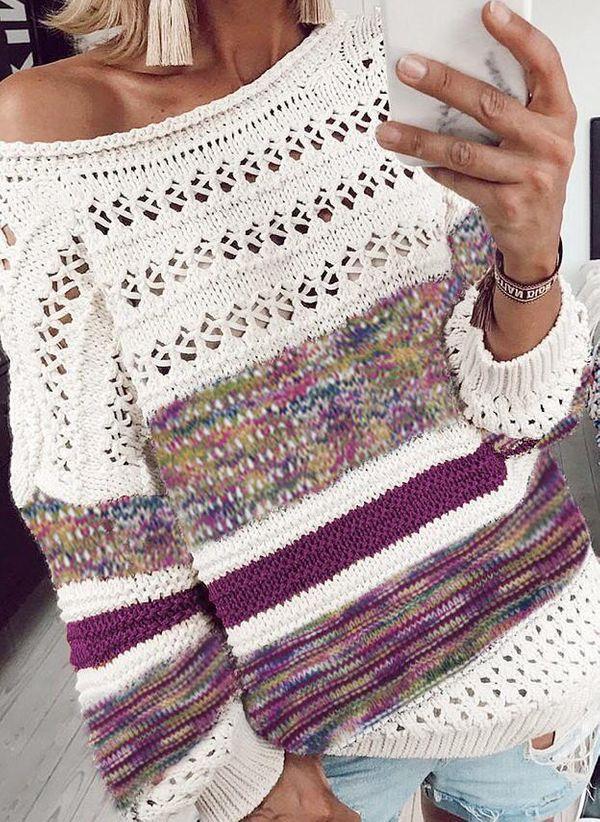 Вязаный свитер осень/зима 2019-2020 1430325