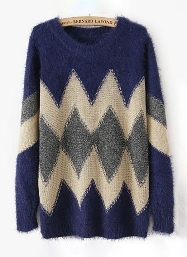 Вязаный свитер осень/зима 2019-2020 1436961