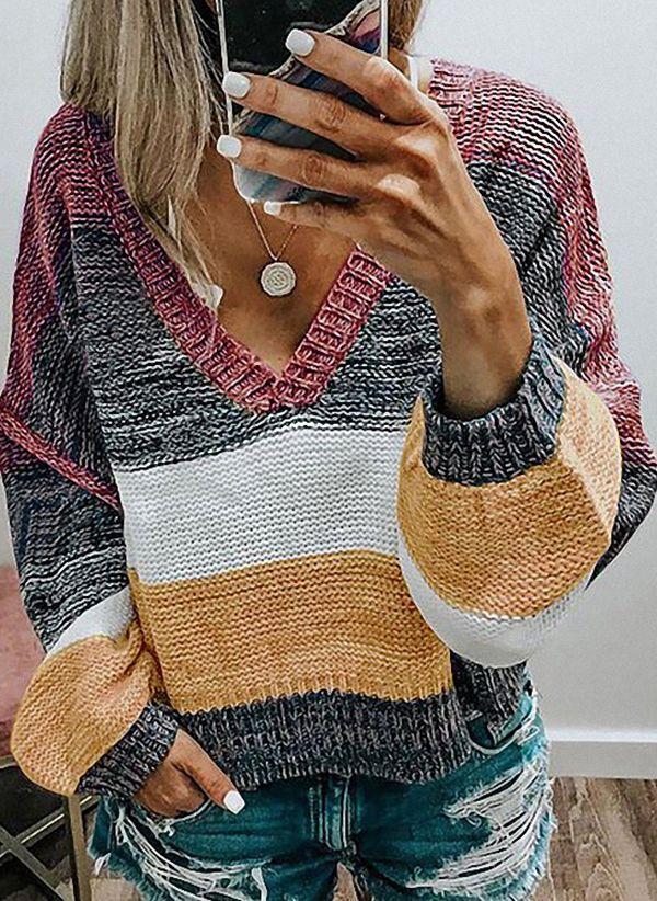 Вязаный свитер осень/зима 2019-2020 1440144