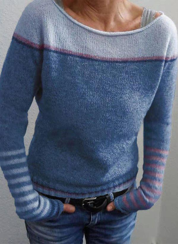 Вязаный свитер осень/зима 2019-2020 1457252