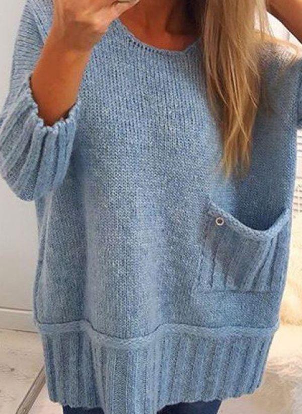 Вязаный свитер осень/зима 2019-2020 1464546