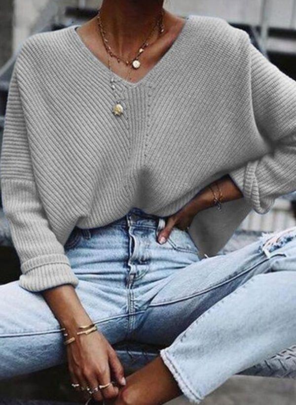 Вязаный свитер осень/зима 2019-2020 1470071