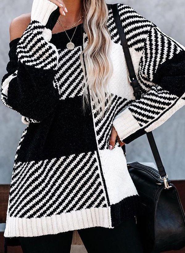 Вязаный свитер осень/зима 2019-2020 1472397