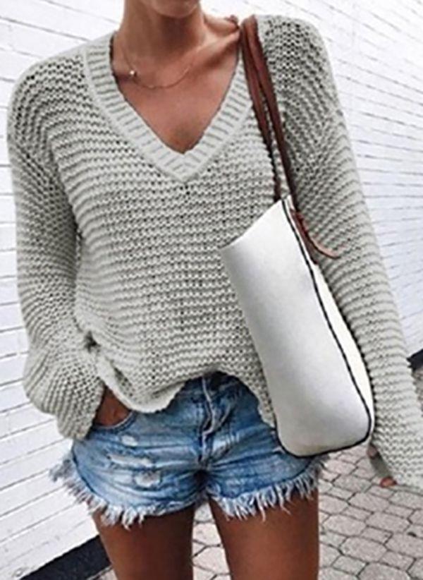 Вязаный свитер осень/зима 2019-2020 1473331