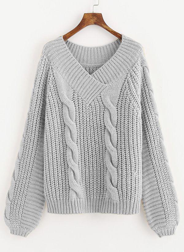 Вязаный свитер осень/зима 2019-2020 1476721