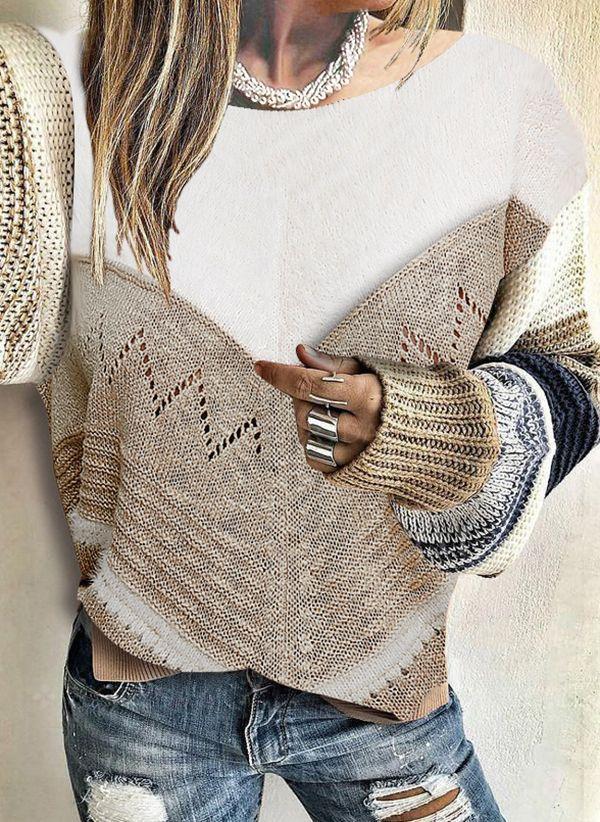 Вязаный свитер осень/зима 2019-2020 1478678