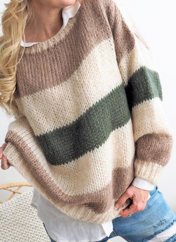 Вязаный свитер осень/зима 2019-2020 1478681
