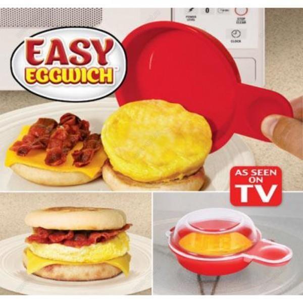 Яичница Easy Eggwich - омлет в микроволновке