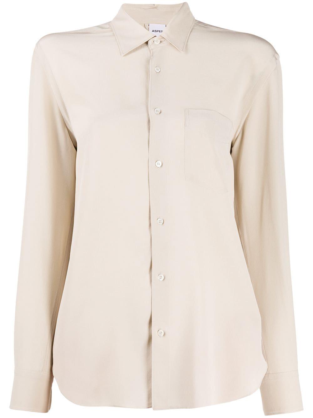 Aspesi блузка с длинными рукавами
