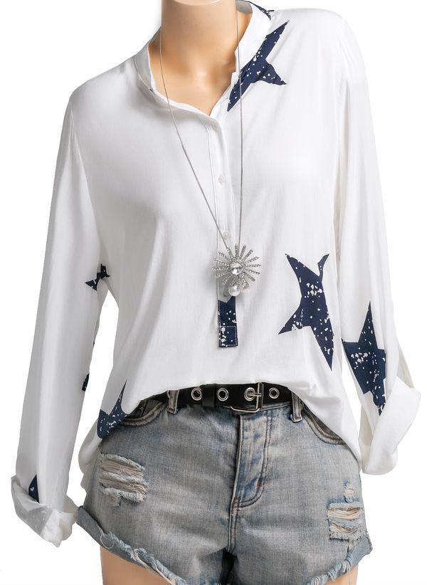 Белая блузка 1234931