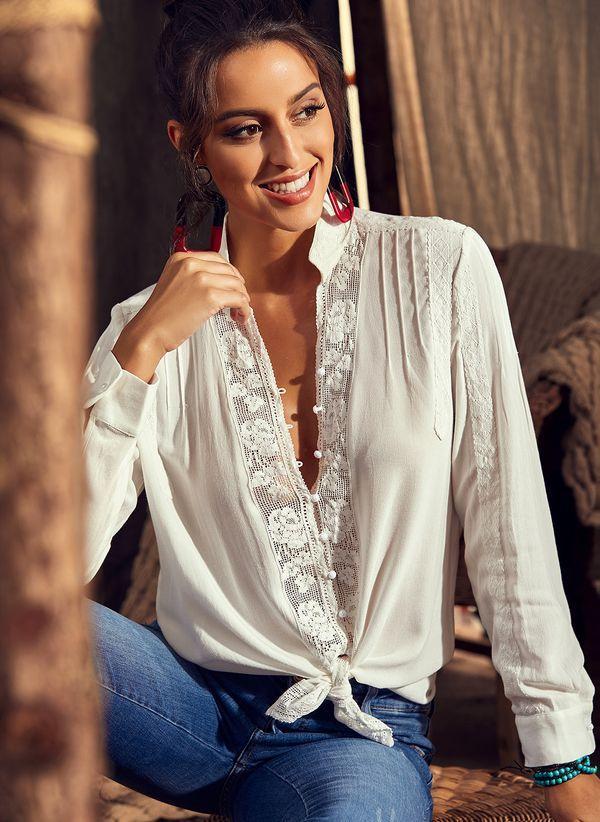 Белая блузка 1289305