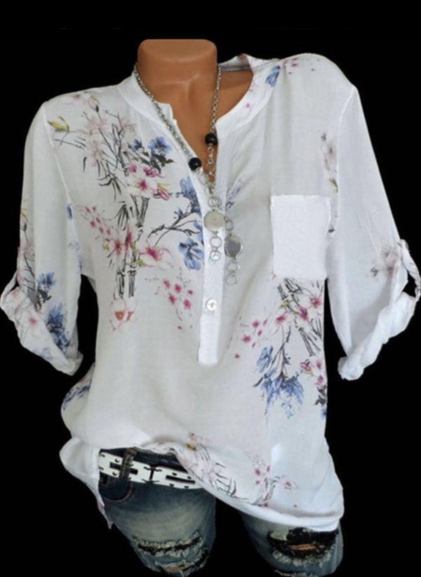 Белая блузка 1296448