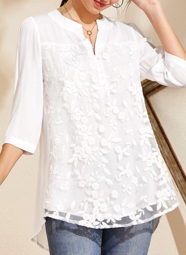 Белая блузка 1298515