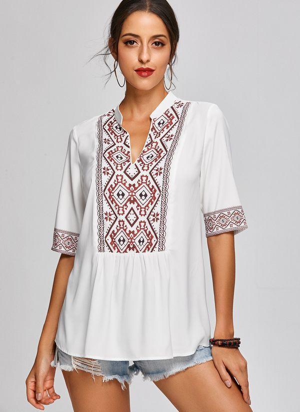 Белая блузка 1303530