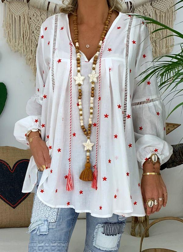 Белая блузка 1319463