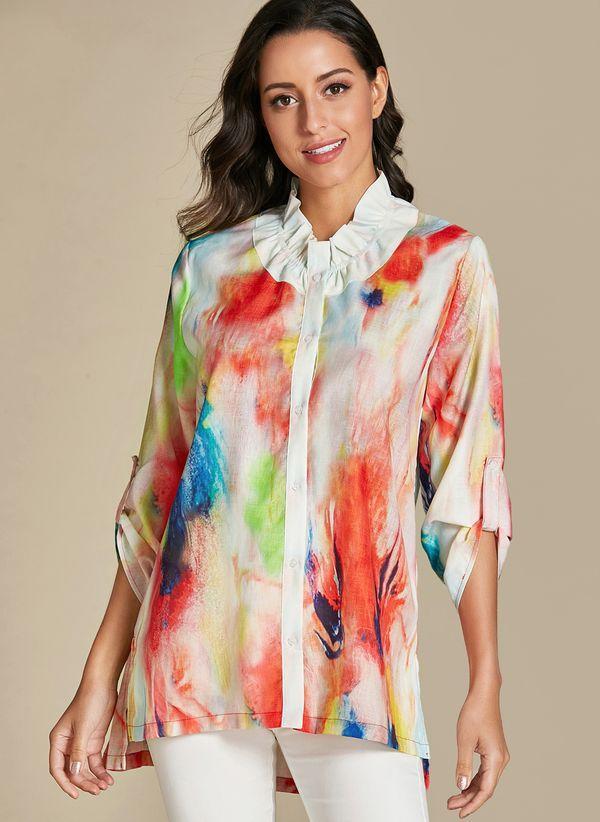 Белая блузка 1321344
