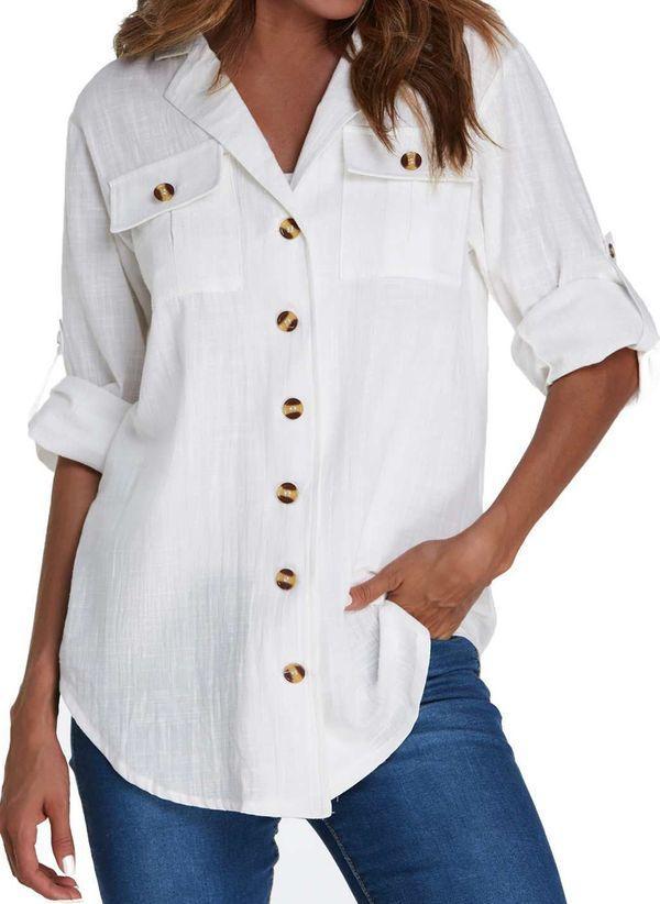 Белая блузка 1352663