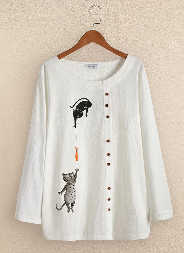 Белая блузка 1360616