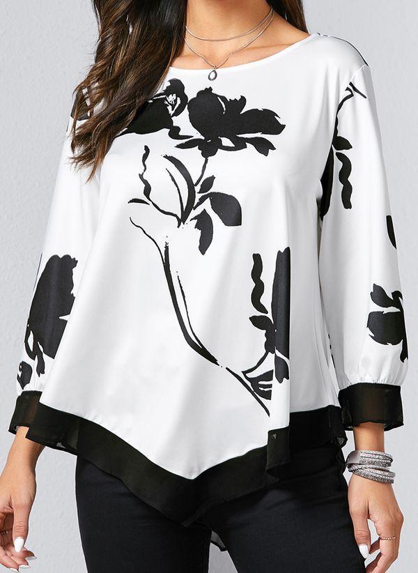 Белая блузка 1368957