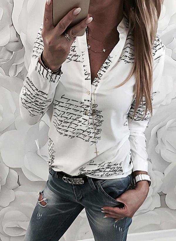 Белая блузка 1441197
