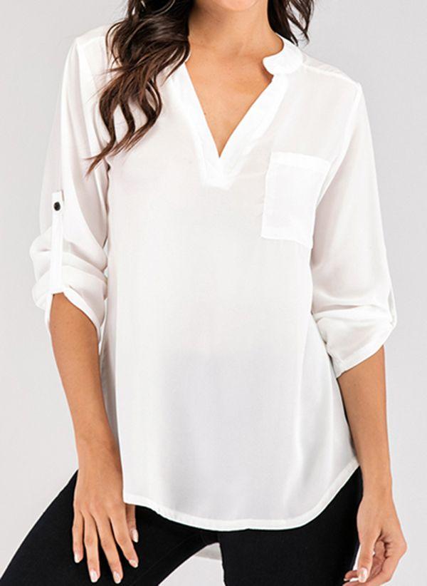 Белая блузка 1457169