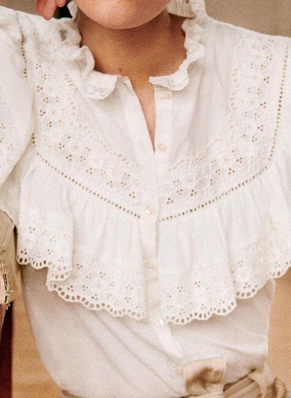 Белая блузка 1477788
