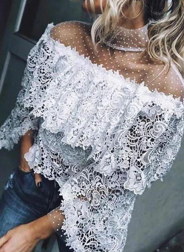 Белая блузка 1481249