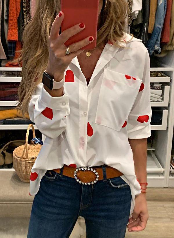 Белая блузка 1485298