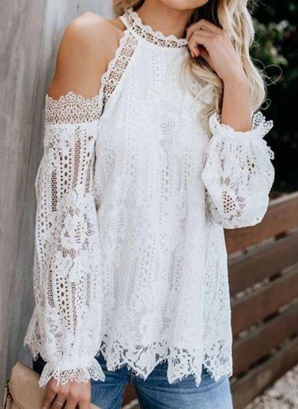 Белая блузка 1485570