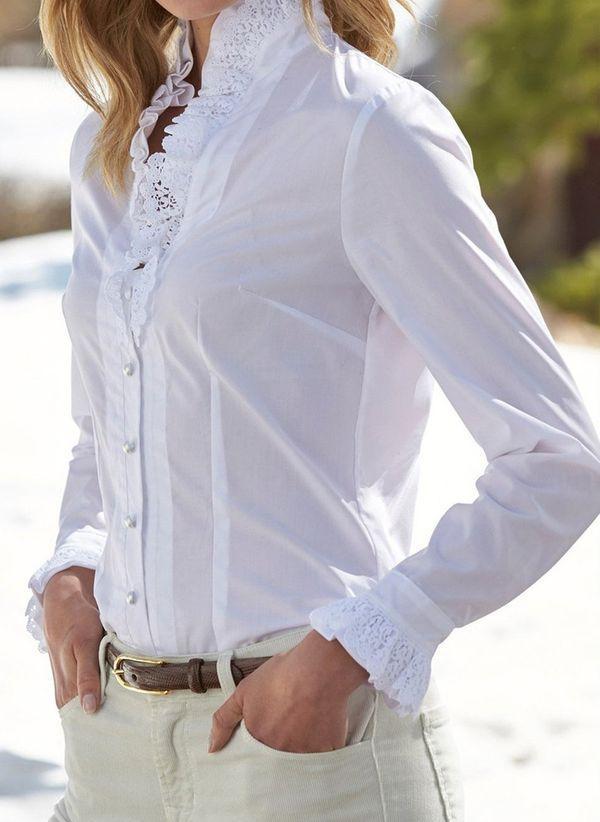 Белая блузка 1487324