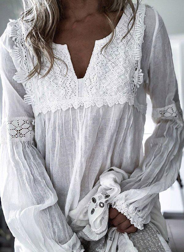 Белая блузка 1488138