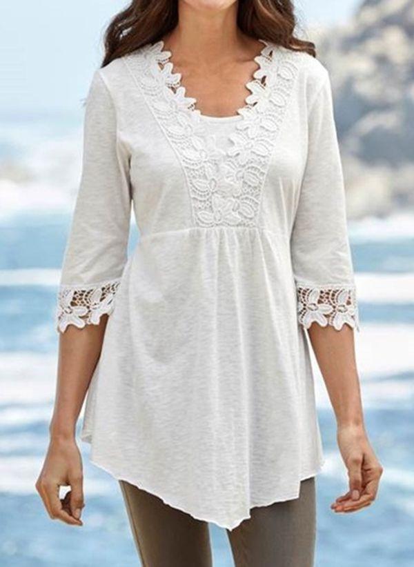 Белая блузка 1491627