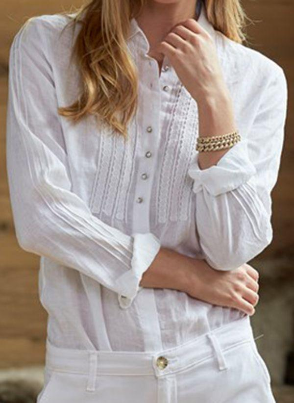 Белая блузка 1493130