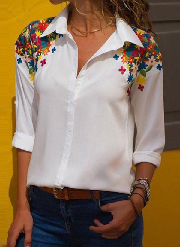 Белая блузка 1496727