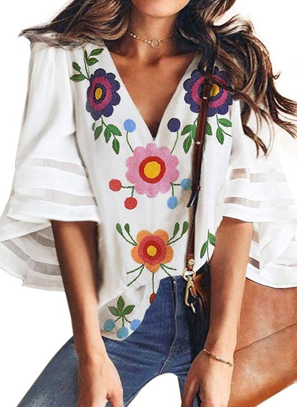 Белая блузка 1496748