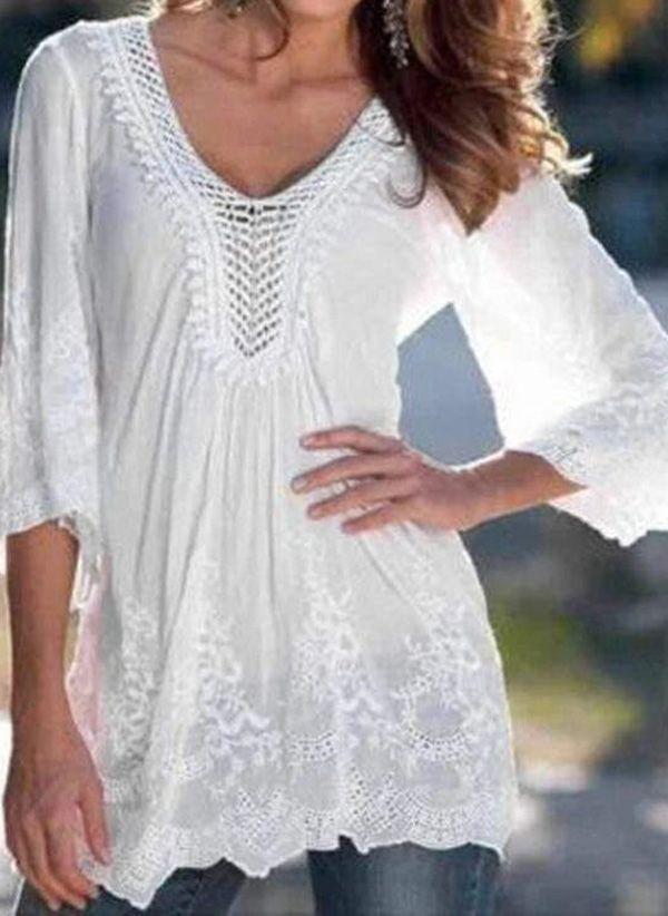 Белая блузка 1496772