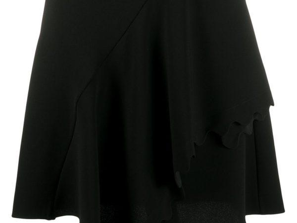 Chloé юбка с фестонами и драпировкой