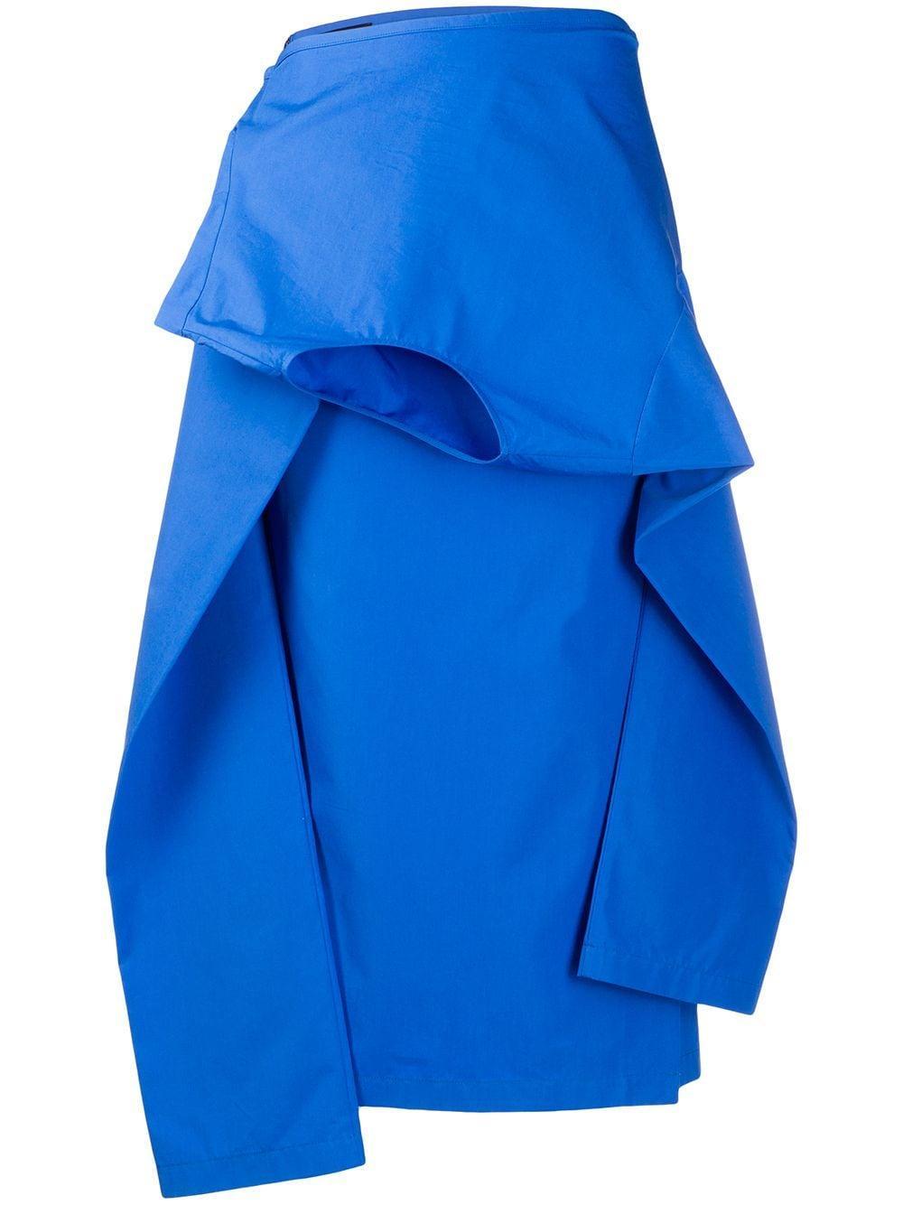 colville юбка миди асимметричного кроя