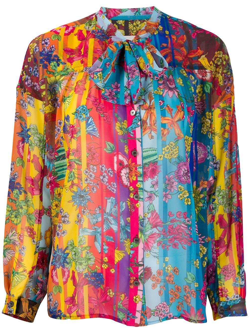 Golden Goose Stella floral-print blouse
