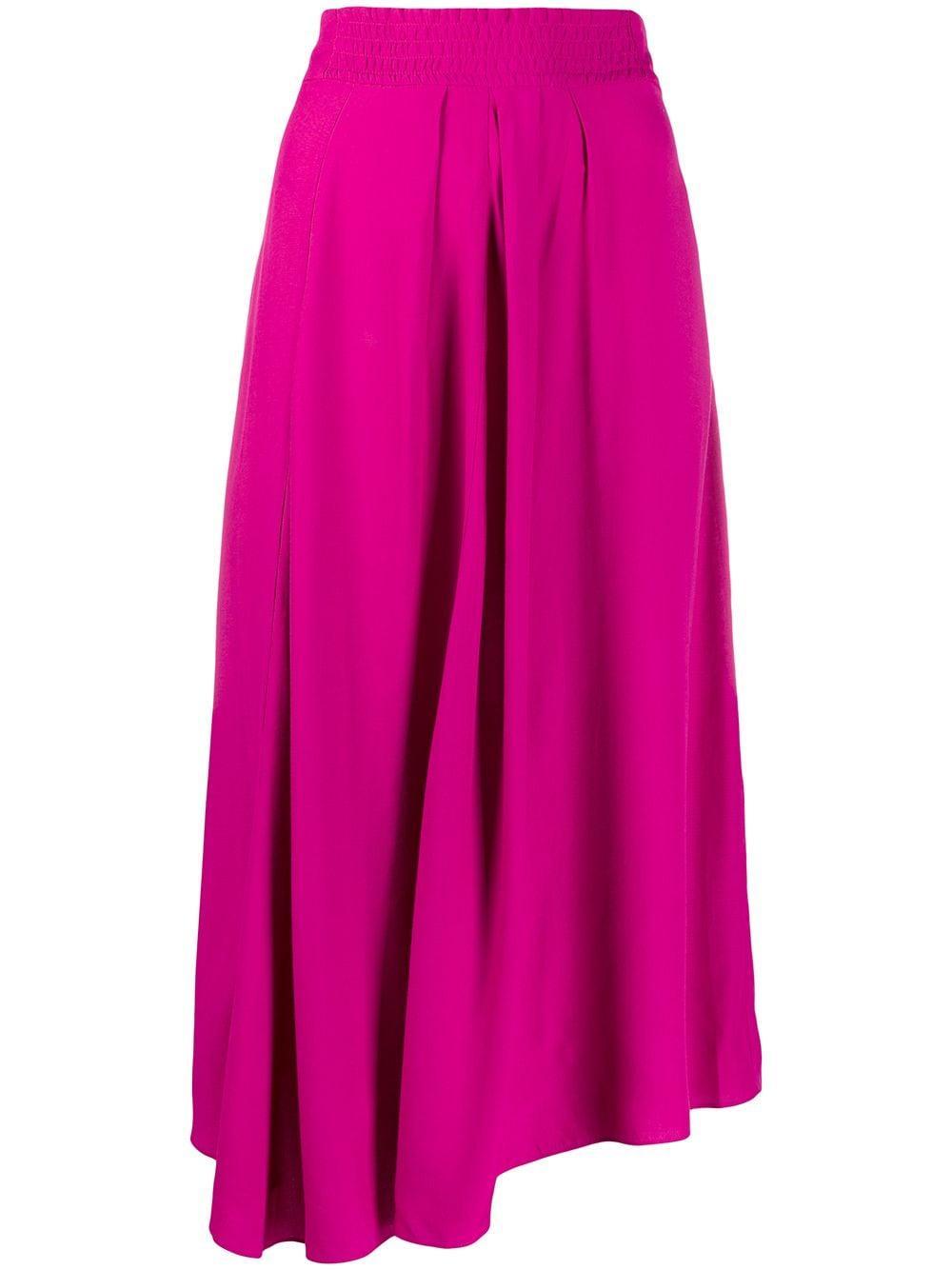 Isabel Marant Étoile юбка миди асимметричного кроя