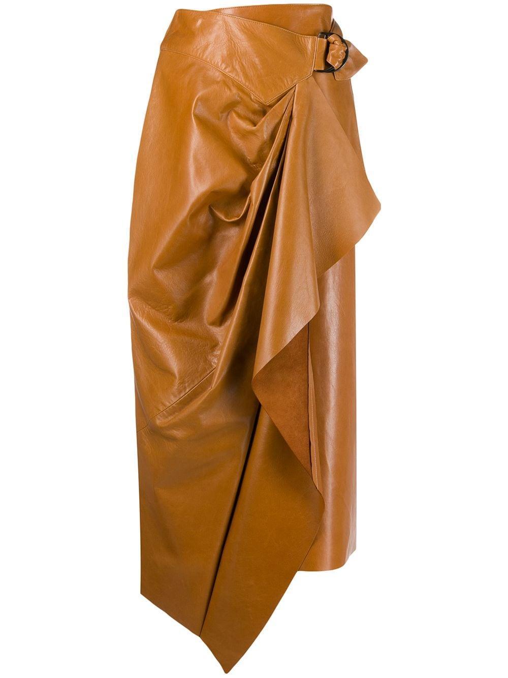 Isabel Marant юбка с запахом